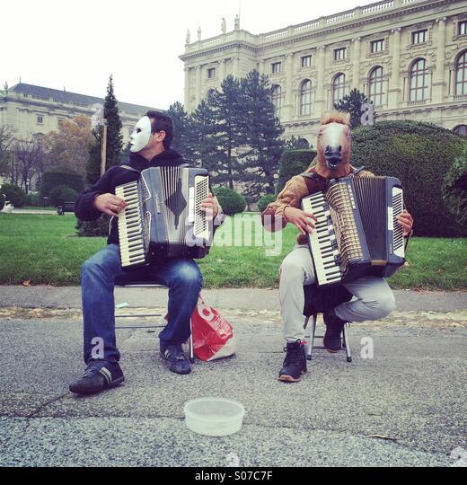 Musicians - Stock Image