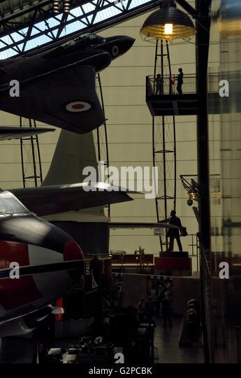Royal Air Force Museum. Cosford. Shifnal, Shropshire. England. UK. Europe - Stock Image