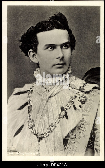 Briefe Von Ludwig Ii : Konig ludwig stock photos images alamy