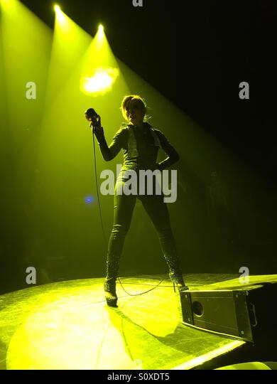 Gloria Trevi- Amor Tour - Stock-Bilder