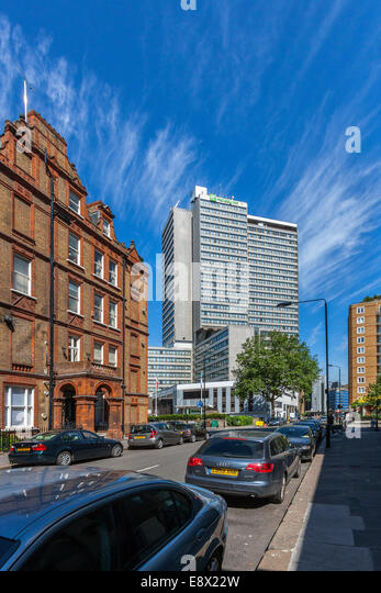 Ashburn Place, South Kensington, London - Stock Image