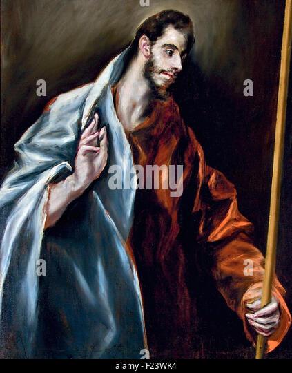 El Greco - Saint Thomas 10 - Stock Image