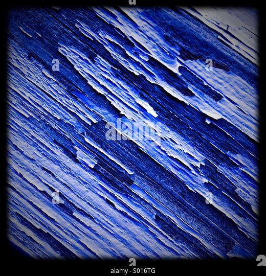 Abstract blue texture shapes - Stock Image