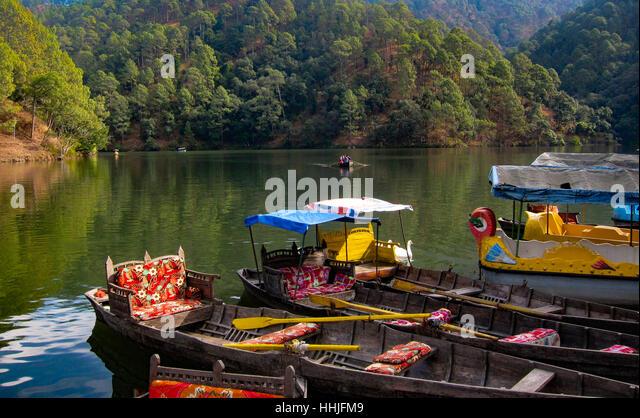 Sattal Boating - Stock Image
