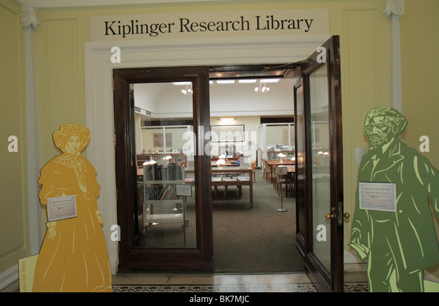 Washington DC Historical Society of Washington DC historic Carnegie Library building Kiplinger Research Library - Stock Image