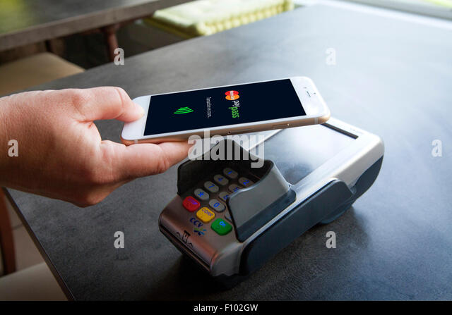 CONTACTLESS PAYMENT - Stock Image