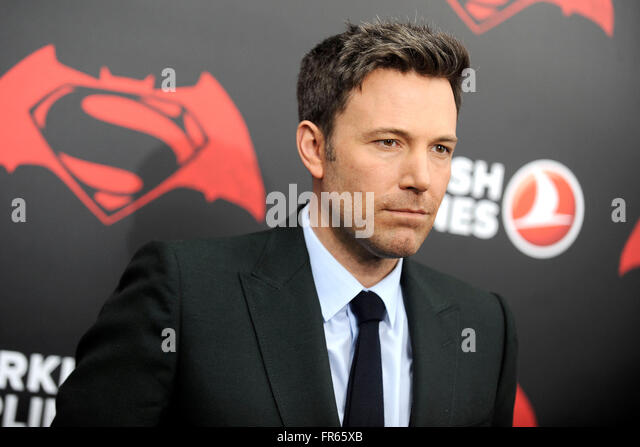 New York City. 20th Mar, 2016. Ben Affleck attends the 'Batman V Superman: Dawn Of Justice' New York premiere - Stock Image