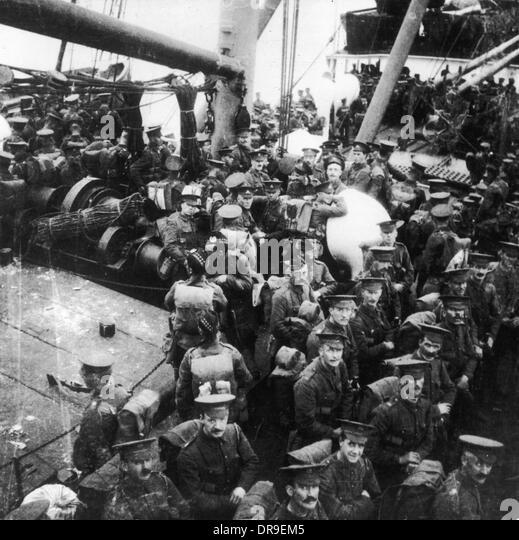 SS Lake Michigan 1914 - Stock-Bilder