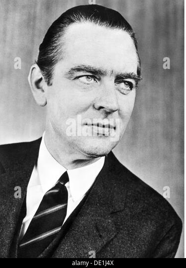 Beitz Berthold 26.3.1913 - 30.7.2013 German industrialist portrait 1950s 20th century 50s Krupp businessman businessmen - Stock Image