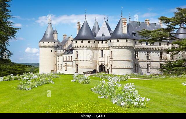 Chaumont Castle, Chaumont sur Loire, Loire Valley, France - Stock-Bilder