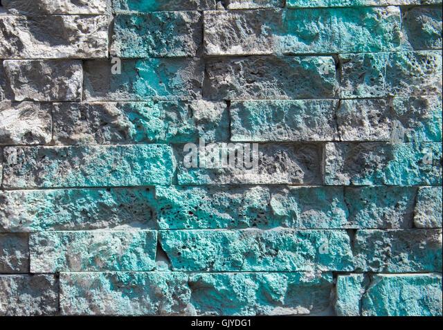 art wall daub - Stock Image