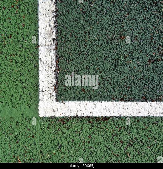 Outdoor tennis court - Stock-Bilder