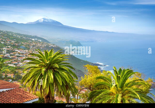 North coast of Tenerife, Canary Islands, Spain - Stock-Bilder