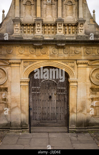 'Senate Gate' in 'Senate House Passage', Cambridge, England, UK - Stock-Bilder