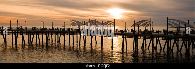 Redondo Beach Pier, Redondo Beach, Los Angeles, California, USA - Stock-Bilder