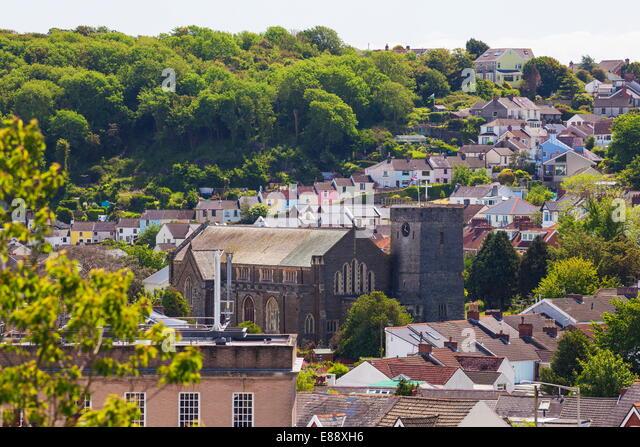 Mumbles, Gower, Swansea, Wales, United Kingdom, Europe - Stock Image