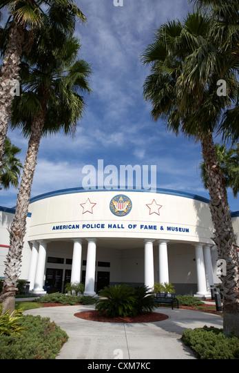 american police hall of fame and museum Florida USA - Stock Image