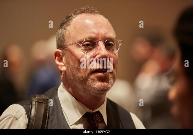 New York, United States. 25th Oct, 2016. Harvey Moscot, 4th generation, CEO, MOSCOT during the Crain's NY, Family - Stock Image
