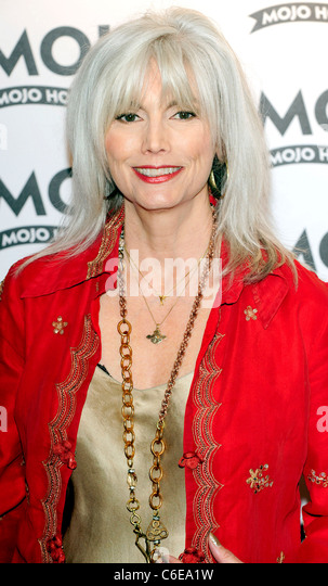 Emmylou Harris 2010 MOJO Honours List award ceremony, held at The Brewery - Arrivals London, England - 10.06.10 - Stock Image