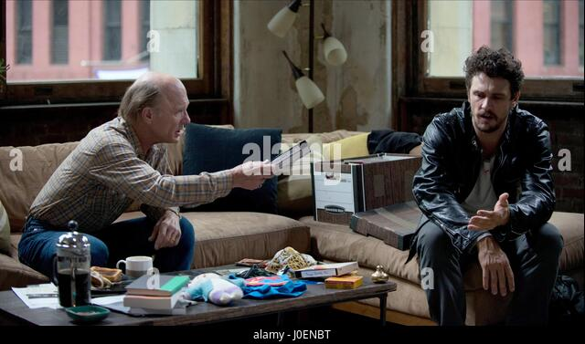 ED HARRIS & JAMES FRANCO THE ADDERALL DIARIES (2015) - Stock Image
