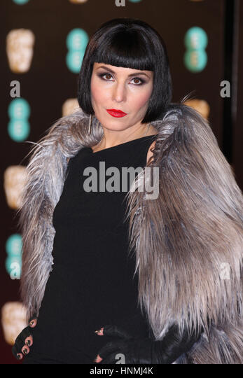 LONDON - FEB 12, 2017: Noomi Rapace attends The EE British Academy Film Awards (BAFTA) at the Royal Albert Hall - Stock Image