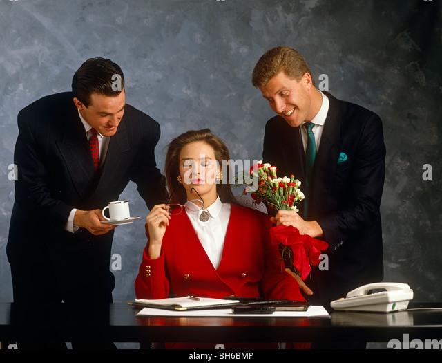 OLIVE: Men Flirting At Work