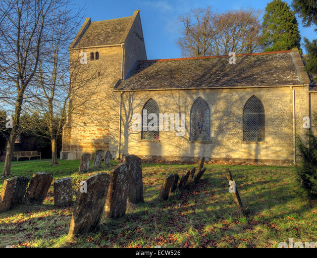St Marys Church Ardley, Oxfordshire, England, United Kingdom - Stock Image