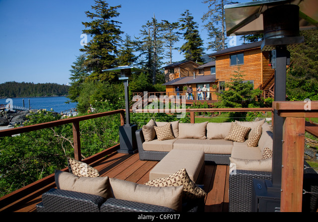 Talon lodge alaska stock photos talon lodge alaska stock for Sitka fishing lodges
