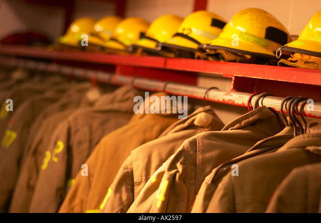 Firefighting gear uid 1426731 - Stock Image