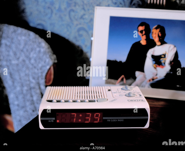 digital radio clock stock photos digital radio clock stock images alamy. Black Bedroom Furniture Sets. Home Design Ideas