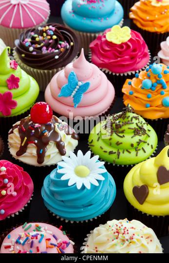 Cupcakes - Stock Image