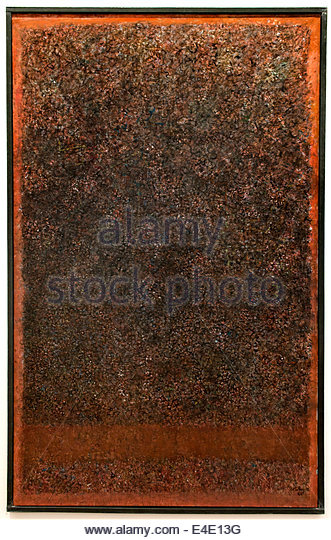 Unknown Journey 1966 Mark Tobey 1890-1976 American United States of America USA - Stock Image