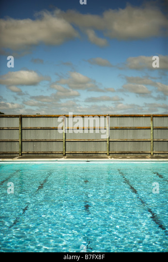 Swimming pool - Stock Image