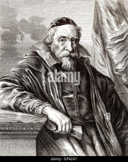 Wenceslas Cobergher or Wenzel Coebergher, 1560-1634, a Flemish Renaissance architect, painter and economist - Stock-Bilder