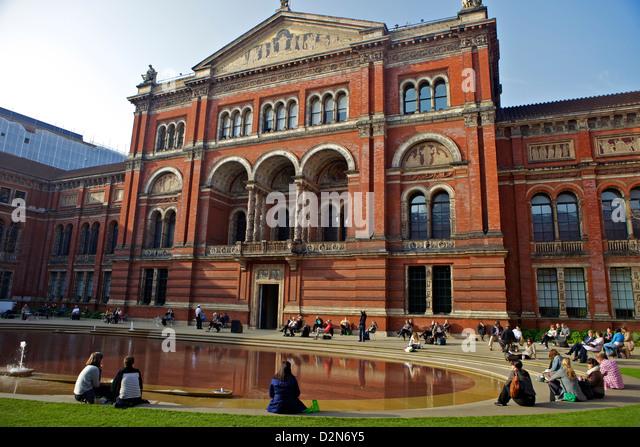 Victoria and albert museum stock photos victoria and for Victoria and albert museum london