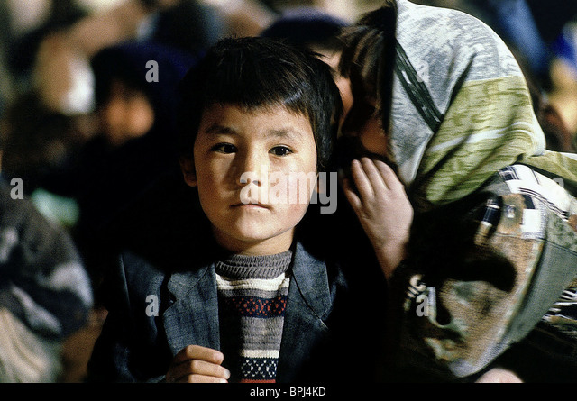 Iranian Child 11 09 01Stock Photos and Images