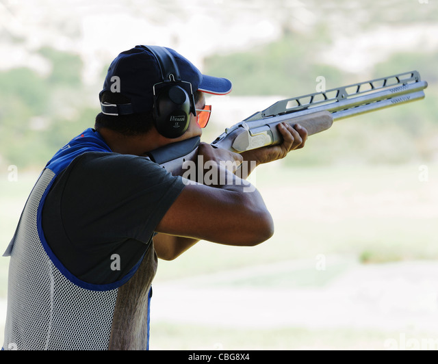 trap shooting stock photos trap shooting stock images alamy. Black Bedroom Furniture Sets. Home Design Ideas