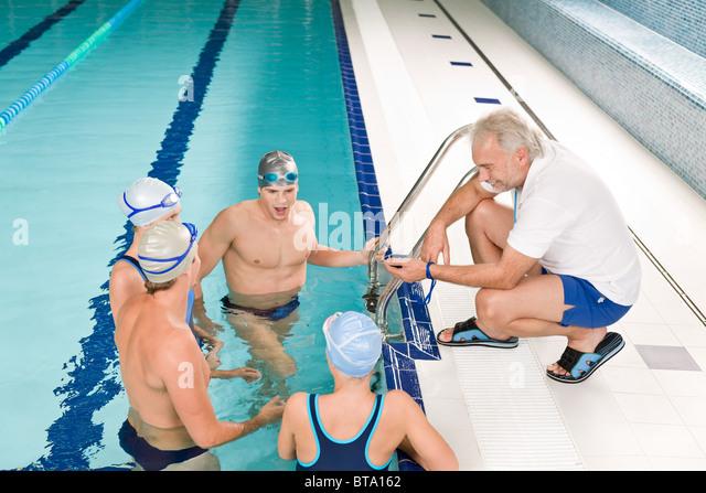 Swim Team Coach Stock Photos Swim Team Coach Stock Images Alamy