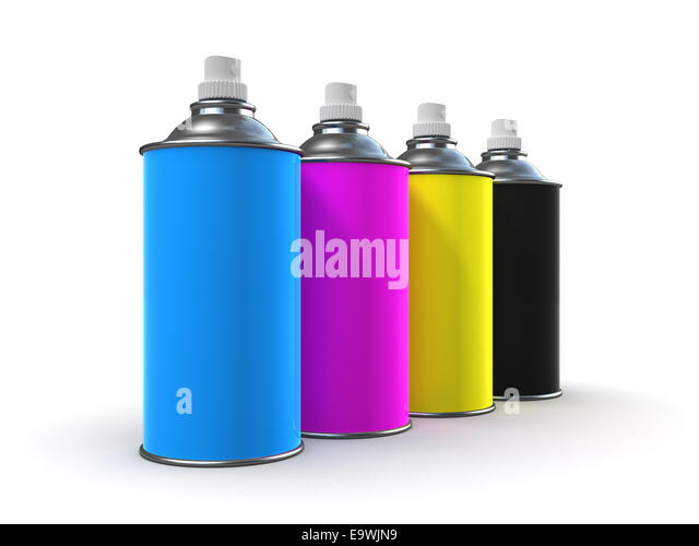 3d render spray paint cans stock photos 3d render spray paint cans stock images alamy. Black Bedroom Furniture Sets. Home Design Ideas