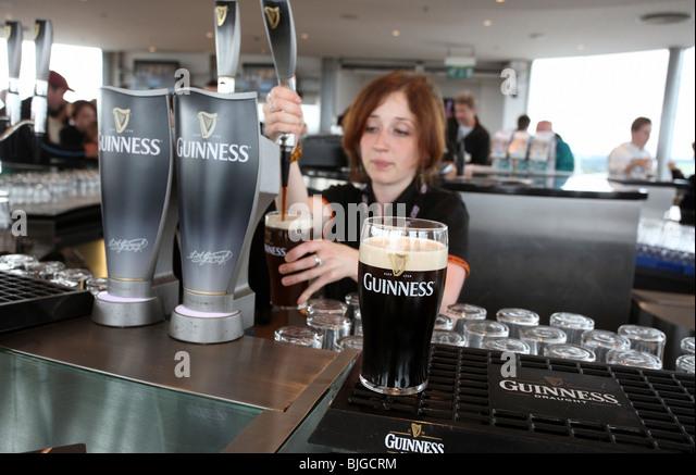 Beer keg drinking stock photos beer keg drinking stock for Guinness beer in ireland