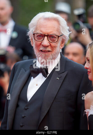 Cannes, France. 22nd May, 2016. Donald Sutherland Actor Closing Awards Gala. 69 Th Cannes Film Festival Cannes, - Stock Image