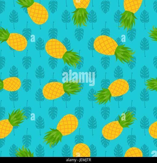 Cartoon Pineapple Stock Photos amp