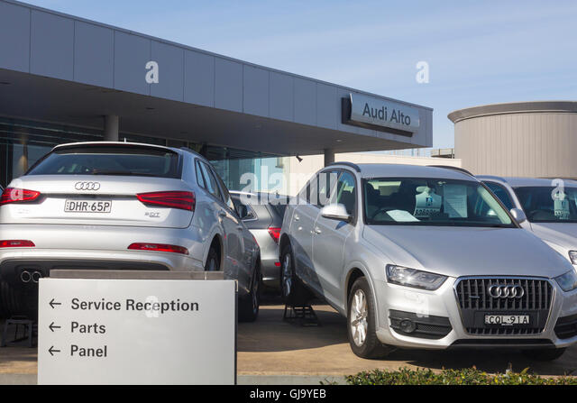 Audi Car Dealership Stock Photos Amp Audi Car Dealership