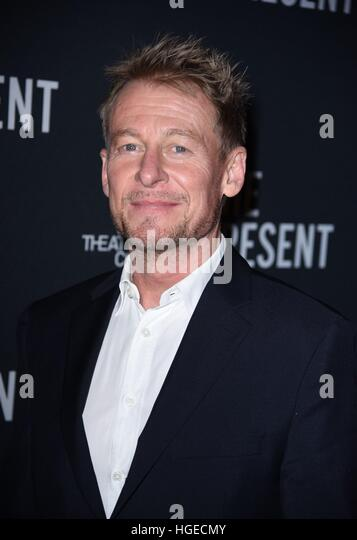 New York, NY, USA. 8th Jan, 2017. Richard Roxburgh in attendance for THE PRESENT Opening Night on Broadway, The - Stock Image