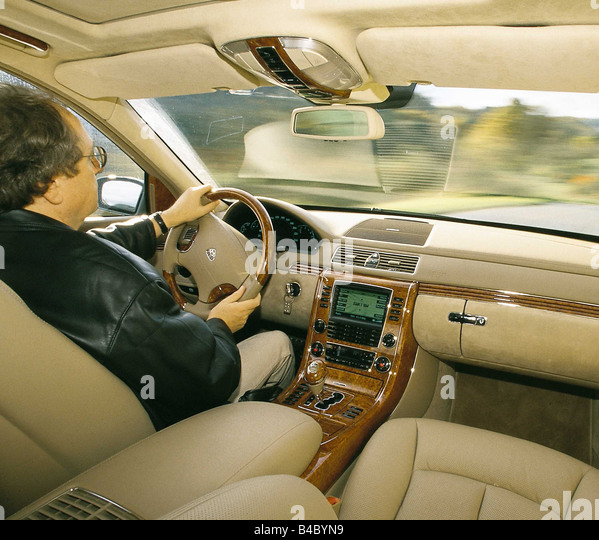 2008 Maybach 62 Interior: Maybach Interior Stock Photos & Maybach Interior Stock