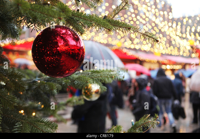 Christmas Baubles Germany : Cologne christmas markets stock photos