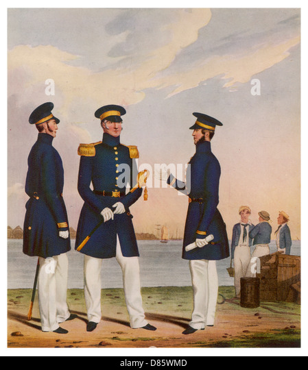 Naval uniforms stock photos naval uniforms stock images for 9 kitchener street trafalgar