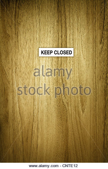 keep closed - Stock-Bilder