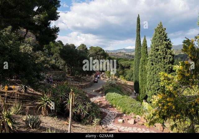 Botanical garden and malaga stock photos botanical for Bodas jardin botanico malaga