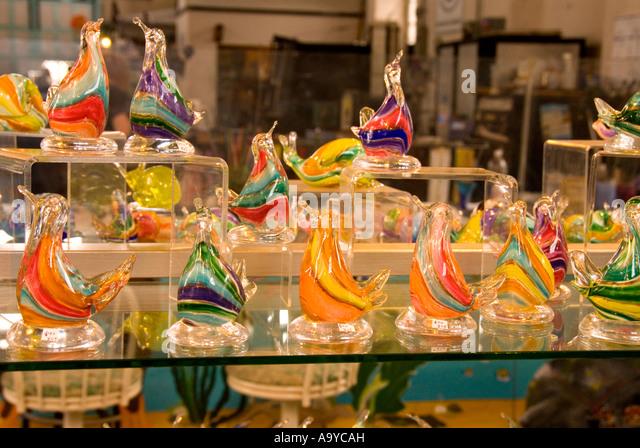 Bermuda Dockyard Glassworks - Stock Image